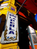 Bar Entrance, La Boca, Buenos Aires, Argentina Photographic Print by Michael Taylor