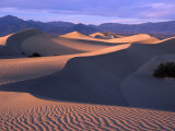 Sand Ripples at Mesquite Sand Dunes, Death Valley National Park, USA Photographic Print by Carol Polich