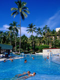 People in Pool, Melia Resort, Puerto Vallarta, Mexico Photographic Print by Richard Cummins