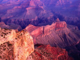 Views of the Grand Canyon National Park, Grand Canyon National Park, USA Fotografiskt tryck av Mark Newman