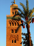 Koutoubia Mosque, Marrakesh, Morocco Photographic Print by Doug McKinlay