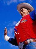Big Tex', Texas State Fair, Dallas, United States of America Photographic Print by Richard Cummins