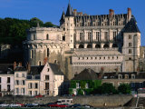 Chateau D'Amboise, Loire Valley, Amboise, France Photographic Print by John Elk III