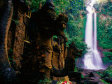 Air Terjun Gitgit Waterfall Near Lovina, Lovina, Indonesia Photographic Print by Tom Cockrem
