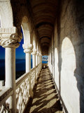 Balcony of Torre De Belem, Lisbon, Portugal Photographic Print by Izzet Keribar