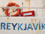Boat Detail in Harbour, Reykjavik, Iceland Photographic Print by Jonathan Smith