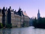 Exterior of the Binnenhof, the Hague, Netherlands Photographic Print by John Elk III
