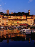 Eglise Notre Dame D'esperance Overlooking the Harbour at Dawn, Cannes, France Photographic Print by Richard I'Anson