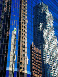 Skyscraper Reflections in Downtown, Los Angeles, United States of America Photographic Print by Richard Cummins