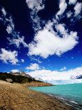 Perito Moreno Glacier and Moreno Hill, Lago Argentino, Los Glaciares National Park, Argentina Photographic Print by Michael Taylor