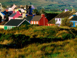 Colourful Village Houses, Eyeries, Ireland Photographic Print by Richard Cummins
