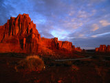Courthouse Towers at Dusk, Arches National Park, USA Photographic Print by Carol Polich