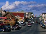 Main Street of Town, Ely, USA Fotodruck von John Elk III