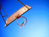 Worn Basketball Hoop, Copenhagen, Denmark Reproduction photographique par Martin Lladó