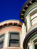 Detail of Victorian Houses, Haight District, San Francisco, United States of America Photographic Print by Richard Cummins
