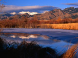 Bridger Mountains Near Bozeman, Bozeman, USA Fotografisk trykk av Carol Polich