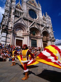 Il Palio Parade, Siena, Italy Photographic Print by Dallas Stribley