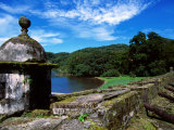 Rusting Cannons and Battlements, Low Battery of San Fernando Fort (1753), Portobelo, Panama Photographic Print by Alfredo Maiquez