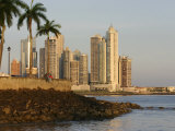 Skyline of Highrise Apartments in Punta Paitilla, Panama City, Panama Photographic Print by Paul Kennedy