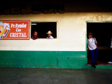 Locals at Billiard Saloon, Boquete, Panama Photographic Print by Alfredo Maiquez