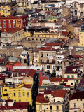 Cityscape from Castel Sant'Elmo, Naples, Italy Photographic Print by Jean-Bernard Carillet