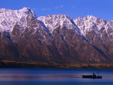 The Remarkables Mountains, Queenstown, New Zealand Photographic Print by John Banagan