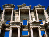 Ruins of Celsus Library, Ephesus, Turkey Photographic Print by Wayne Walton