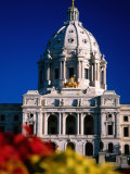 Exterior of State Capitol Building, St. Paul, United States of America Photographic Print by Richard Cummins
