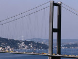 Bridge Over Bosphorus River, Istanbul, Turkey Photographic Print by Phil Weymouth