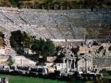 Great Theatre Ruin, Pergamum, Ephesus, Turkey Photographic Print by John Elk III