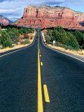 Road Into Sedona, Sedona, U.S.A. Papier Photo par Ann Cecil