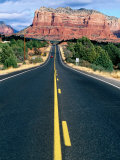 Road Into Sedona, Sedona, U.S.A. Photographic Print by Ann Cecil