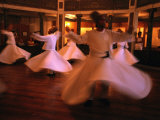 Whirling Dervishes, Istanbul, Turkey Photographic Print by Phil Weymouth