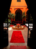 Les Bains De Marrakesh, Marrakesh, Morocco Fotografisk tryk af Doug McKinlay