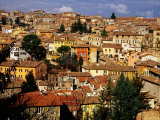 Old Houses and Rooftops, Perugia, Italy Photographic Print by Pershouse Craig