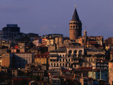 Galata Tower, Istanbul, Turkey Photographie par Phil Weymouth