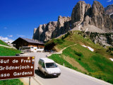 Gardena Pass, Dolomiti Di Sesto Natural Park, Italy Photographic Print by Richard Nebesky