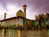 Mausoleum of Shar-e Cheragh, Shiraz, Iran Photographic Print by Mark Daffey