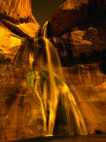 Little Calf Creek Falls in the Grand Staircase- Escalante National Monument, Utah, USA Photographic Print by Mark Newman