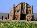 Marsh Arab Reed House, Iraq Photographic Print by Jane Sweeney