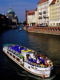Cruise on Spree River with Berlin Cathedral (Berliner Dom) in Background, Berlin, Germany Photographic Print by Krzysztof Dydynski