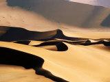 Sand Dunes in Namib Desert National Park, Sossusvlei, Namibia Fotografisk tryk af Christer Fredriksson