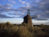 Windmill in Dunes, Kandesterne, Denmark Photographic Print by Holger Leue