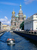 Griboedova Canal and Church of the Spilled Blood, St. Petersburg, Russia Photographic Print by Jonathan Smith