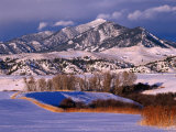 Bridger Mountain Range Near Bozeman, Bozeman, USA Photographic Print by Carol Polich