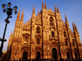Facade of the Cathedral, Milan, Italy Photographic Print by Witold Skrypczak