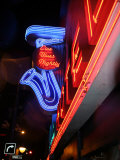 Neon Sign for the Yale Hotel Blues Club, Vancouver, Canada Photographic Print by Lawrence Worcester