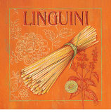 Italian Linguini Print by Stefania Ferri