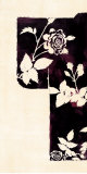 Midnight Silhouette Kimono I Posters by Katie York