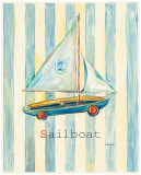 Sailboat Poster by Catherine Richards